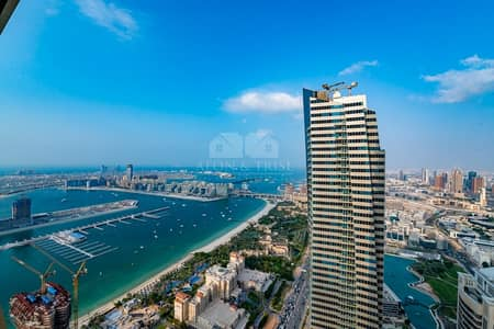 3 Bedroom Apartment for Rent in Dubai Marina, Dubai - Vacant I Higher Floor I Fantastic Views I Bright