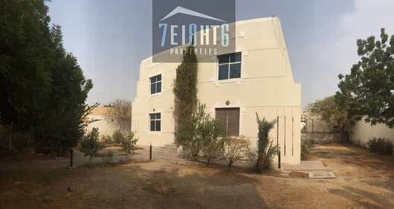 5 Bedroom Villa for Rent in Al Qusais, Dubai - Outstanding property: 5 b/r good quality independent villa + maids room + drivers room + large garden