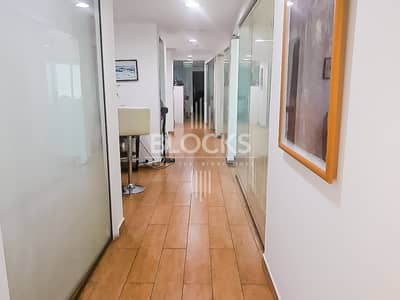 Office for Rent in Business Bay, Dubai - 10 Parking Fully Furnished | Partitioned Office