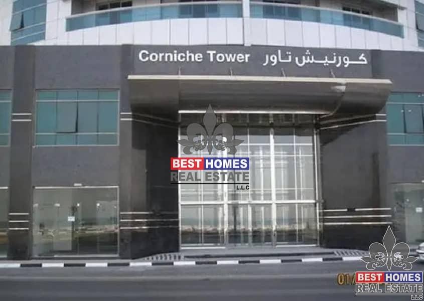 2 1 BHK for Sale In Corniche Tower Ajman