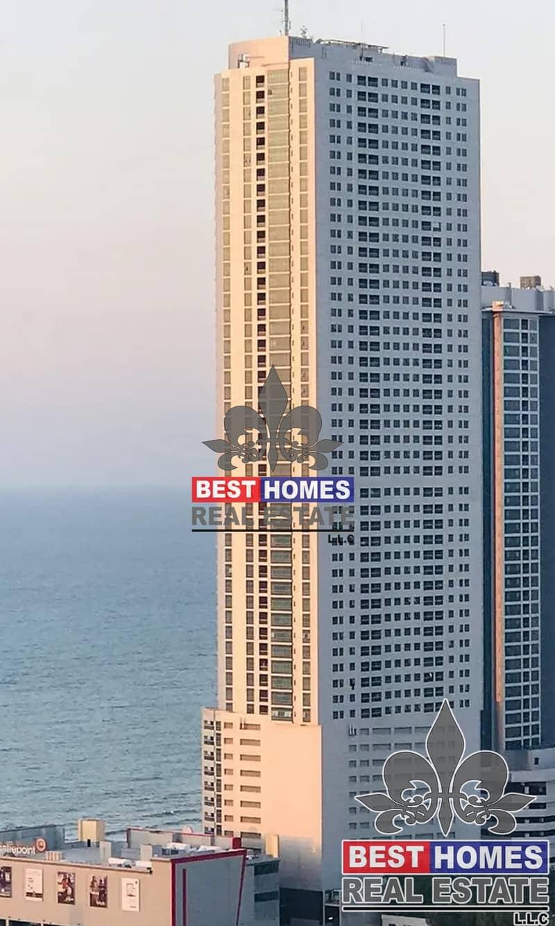 10 1 BHK for Sale In Corniche Tower Ajman