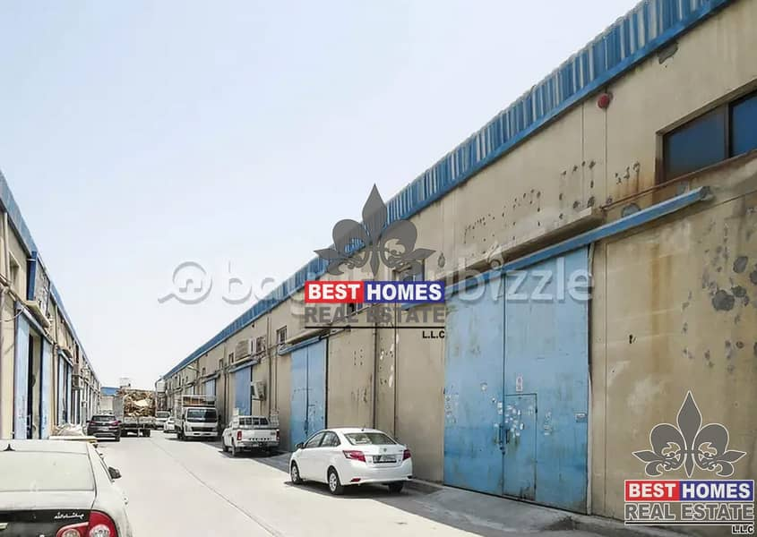 Warehouse Available For Rent Different Sizes in Ajman