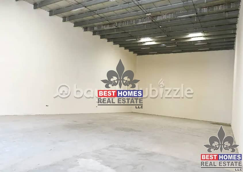 2 Warehouse Available For Rent Different Sizes in Ajman
