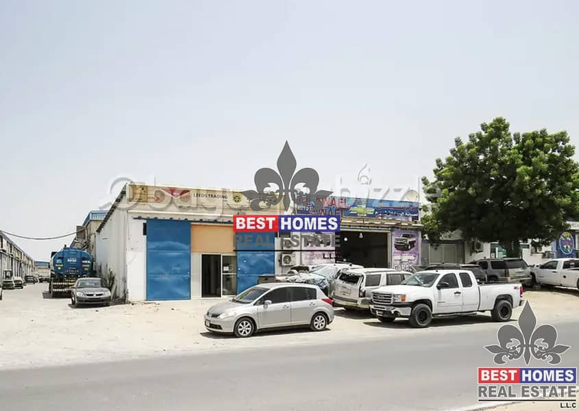 13 Warehouse Available For Rent Different Sizes in Ajman