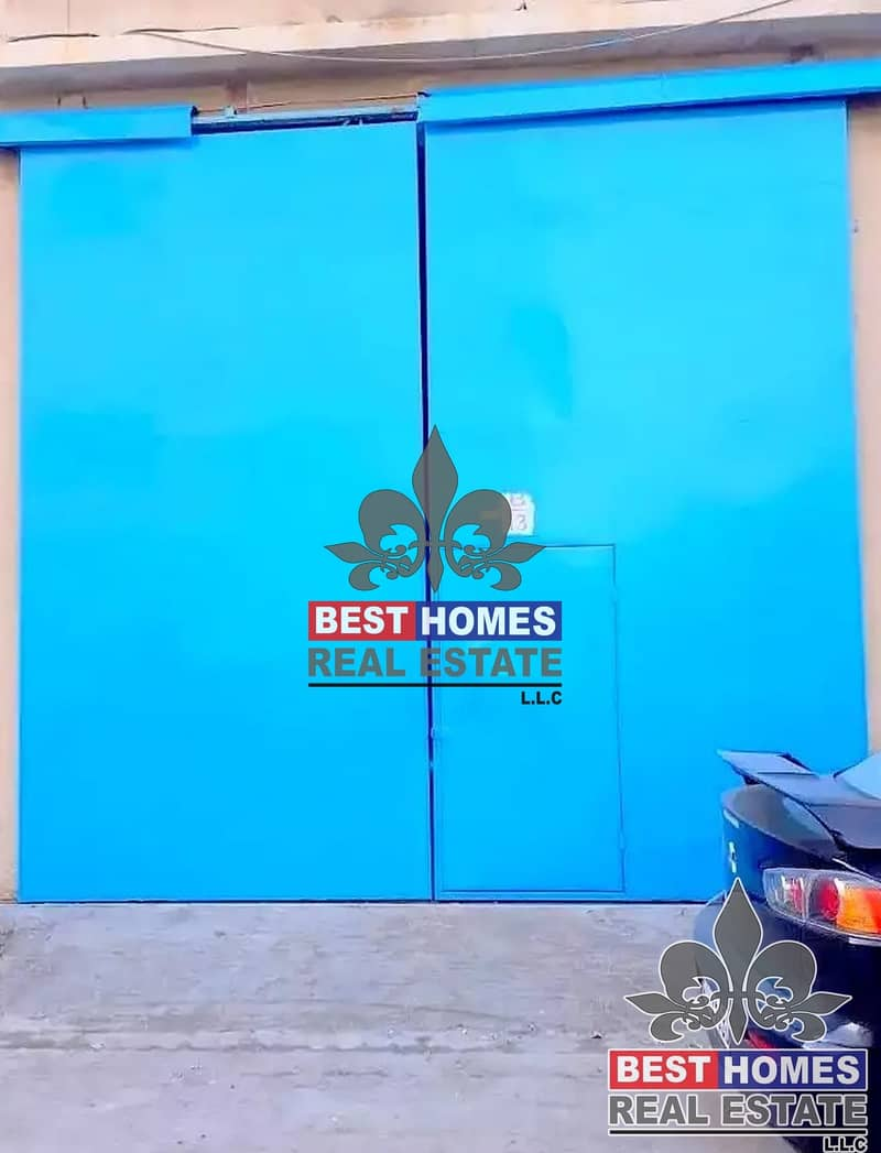 9 Spacious Warehouse in New Industrial area Ajman