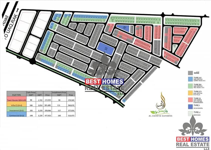 2 100% Freehold | Good location | Al Zahiya Ajman