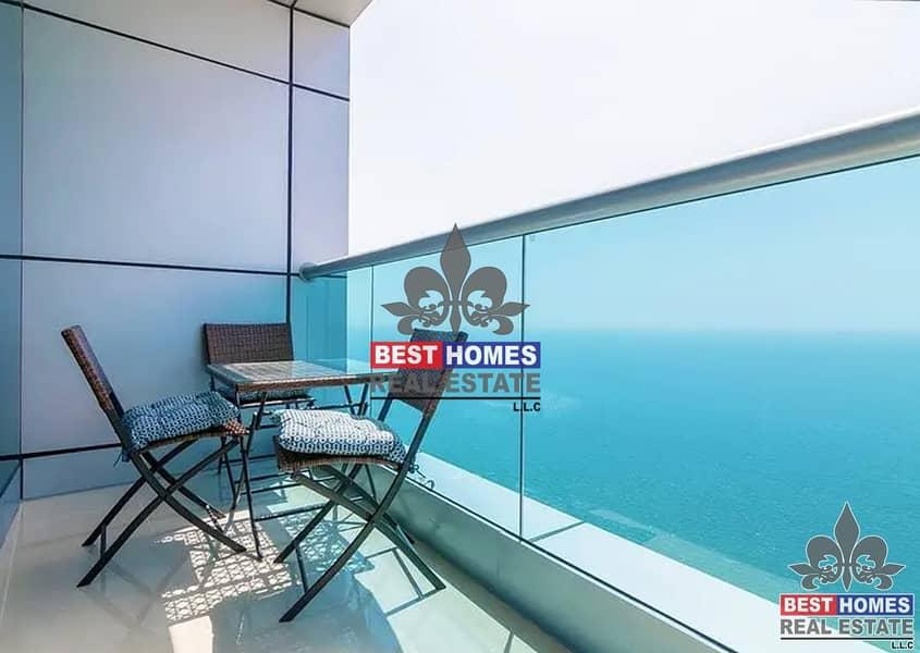 2 Endless Sea View 3 BHK Luxury Duplex I Installment & 5% Discount