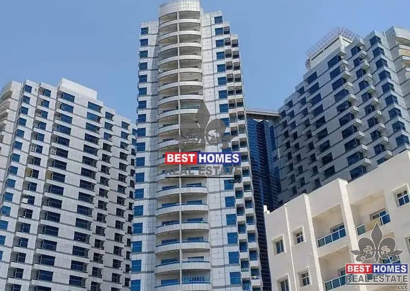 1 Bedroom Rent With Parking Falcon Tower Ajman