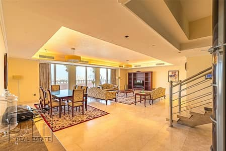 4 Bedroom Penthouse for Sale in Palm Jumeirah, Dubai - Reduced | Penthouse | Full Sea View | Duplex