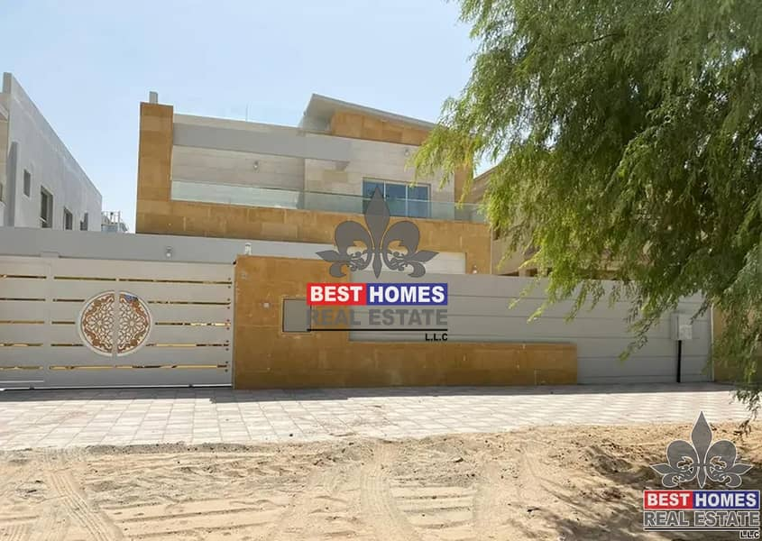 Brand New Villa with already Installed AC and Maid Room