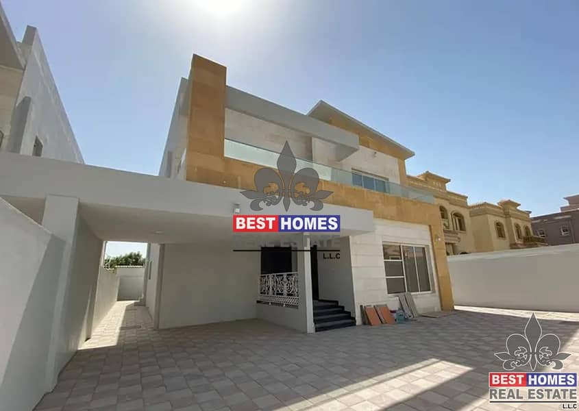 2 Brand New Villa with already Installed AC and Maid Room