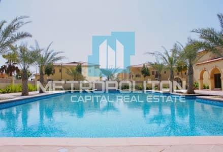 فیلا 6 غرف نوم للايجار في جزيرة السعديات، أبوظبي - Sea & Golf View| First Row| Exquisite Features