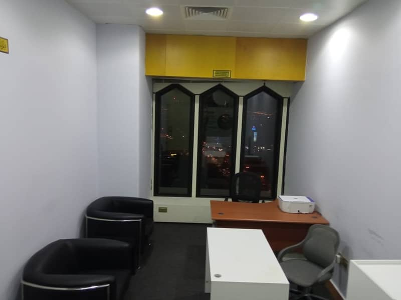 Fully Furnished Office at Al Masraf Tower| Chiller Free