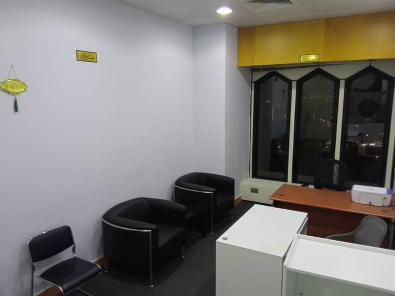 2 Fully Furnished Office at Al Masraf Tower| Chiller Free