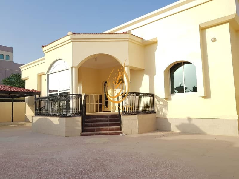 Spacious Single Story Four Bedrooms Villa with huge Parking Space