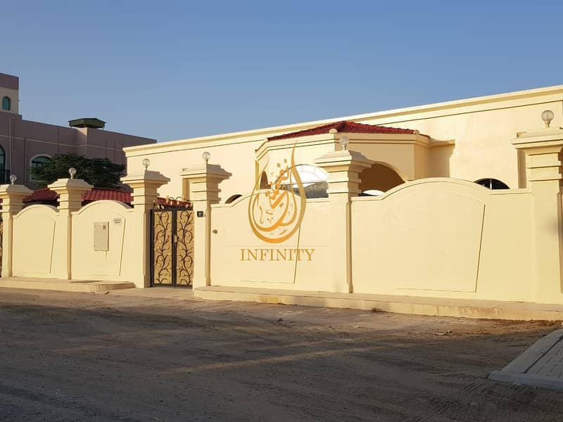 2 Spacious Single Story Four Bedrooms Villa with huge Parking Space