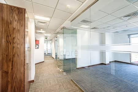 Office for Rent in Dubai Investment Park (DIP), Dubai - Low Floor | DEWA and Chiller Incl | Fitted