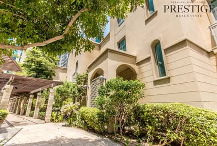 4 Bedroom Villa for Sale in Dubai Marina, Dubai - 4 Bed Villa | Unfurnished |  Garden View | Dubai Marina