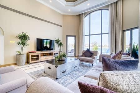 5 Bedroom Villa for Rent in Palm Jumeirah, Dubai - Sandy Bay II/ Elegant Villa/ Private Pool &Beach