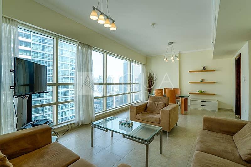 Fully Furnished | Balcony | Marina Views