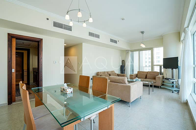 2 Fully Furnished | Balcony | Marina Views