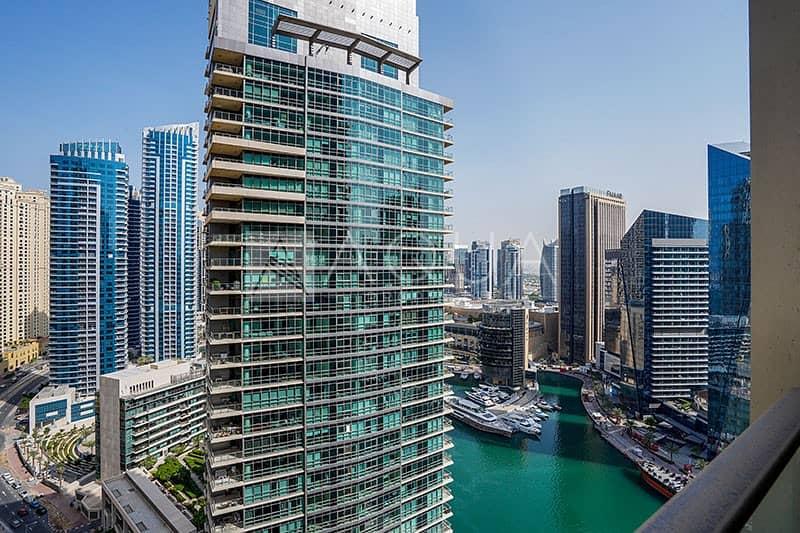 10 Fully Furnished | Balcony | Marina Views