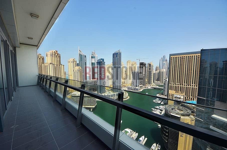 10 High Floor 2 BR + 2 Bath Full Marina View I Vacant