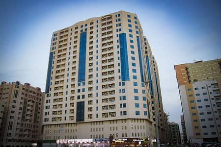 2 Bedroom Flat for Rent in Al Qasimia, Sharjah - For as LOW as 27000 per year, Spacious and Affordable 2BHK in Qasimia Tower