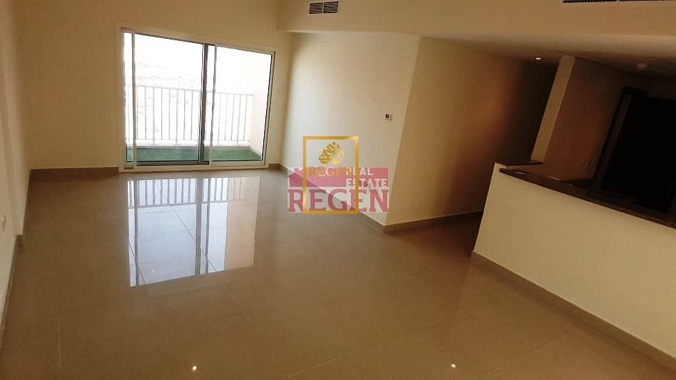 Large 3 BR + Maid + Parking | 2 Terrace balcony | Low floor Mall view
