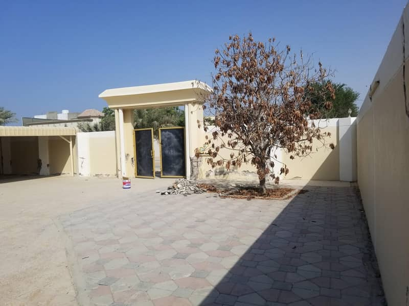 57 Luxury villa of 8000 feet and 4 rooms AND HALL&MAJLIS for rent