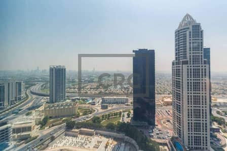Office for Rent in Jumeirah Lake Towers (JLT), Dubai - High floor| Partially furnished