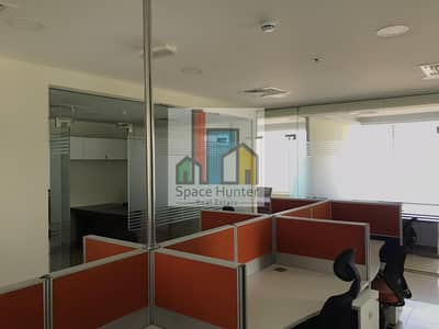Office for Rent in Dubai Silicon Oasis, Dubai - Prime Location- Ready office in DSO with partitions