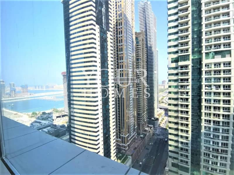 SB   Partial Marina View 2 bed   Unfurnished High Floor