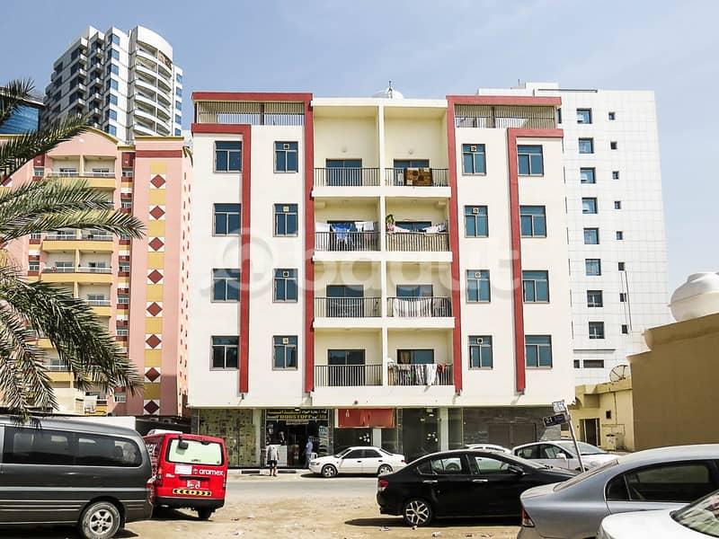 للبيع بنايه جديده في عجمان الراشديه ارضي و4 ماجره بالكامل  قريب من قصر الشيخ وتاور الفالكون  ماجرهبالكامل للتواصل 0569800628