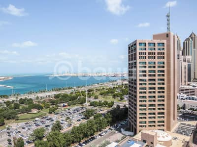 3 Bedroom Apartment for Rent in Sheikh Khalifa Bin Zayed Street, Abu Dhabi - Fantastic Full Sea View 3 BR's Apartment
