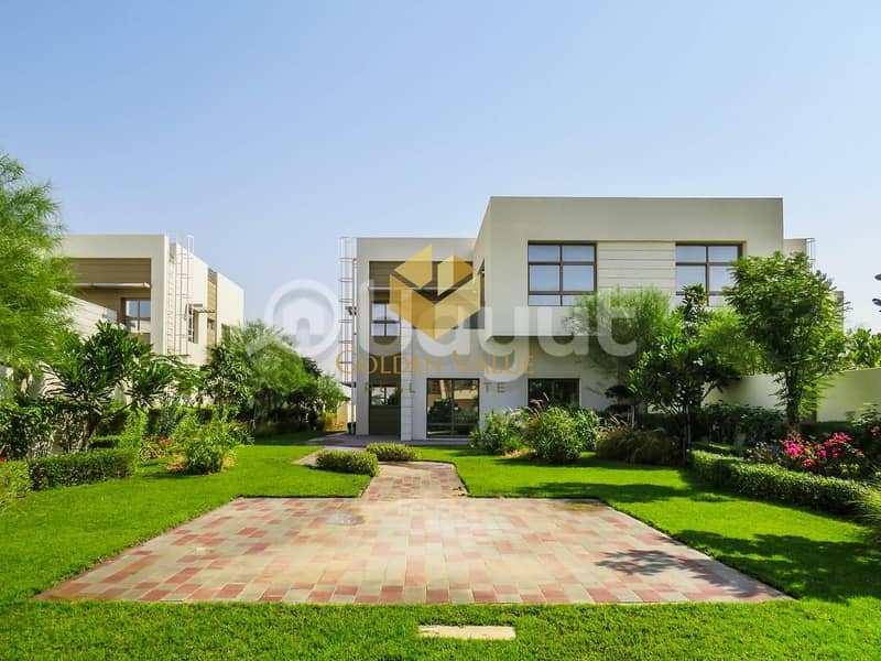 Spacious 5 BR Villa l Ready To Move l 5 Years Payment Plan