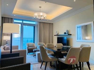 2 Bedroom Apartment for Sale in Downtown Dubai, Dubai - Full Burj Khalifa and Fountain View |Middle Series