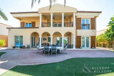 5 Bedroom Villa for Sale in Green Community, Dubai - Exclusive Listing ~ Rare East Family Villa