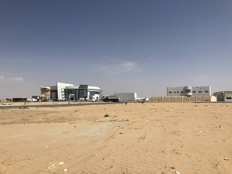 2 For sale     Residential Commercial Land Aljurf Industrial Area