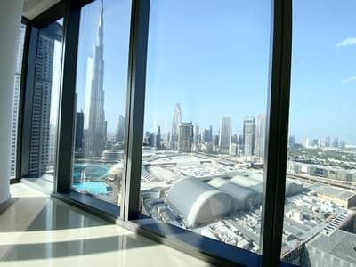 2 Bedroom Flat for Rent in Downtown Dubai, Dubai - Big Balcony / Chiller Free / Bright