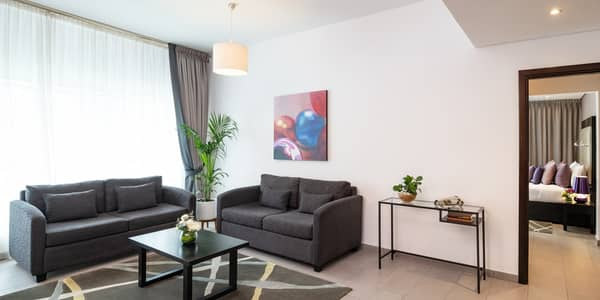 1 Bedroom Apartment for Rent in Barsha Heights (Tecom), Dubai - 12 Cheques Payment | LOWEST PRICE FOR 1-BEDROOM FULLY FURNISHED