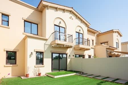 تاون هاوس 3 غرف نوم للايجار في ريم، دبي - Single Row   Type 3M   Beautiful Landscaped Garden