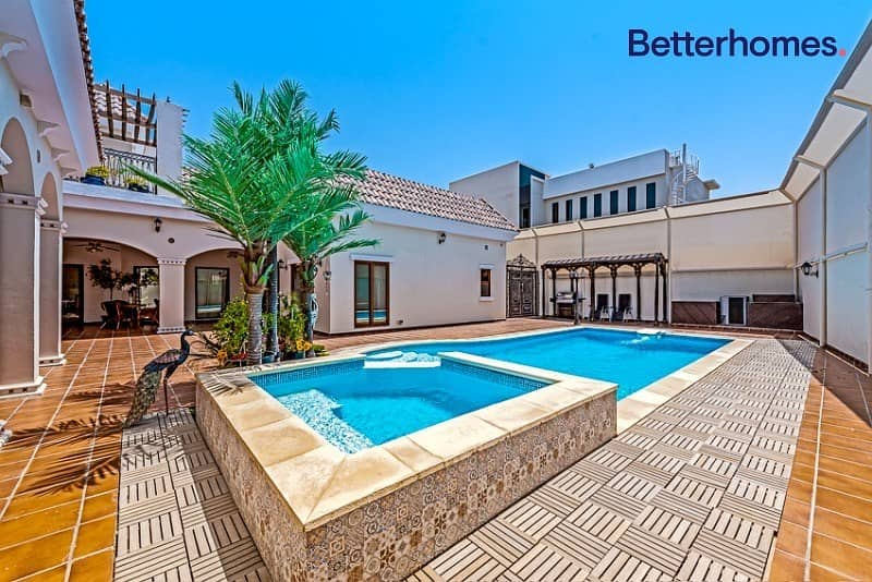 Andalus style|5 beds|Swimming pool|Cozy