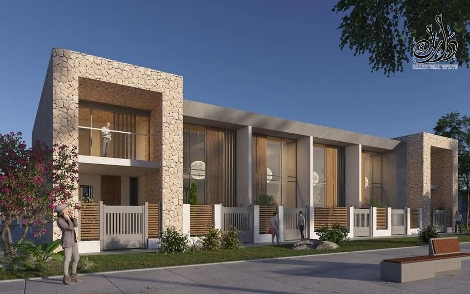 Own a townhouse in Dubai land special payment plans 10% discount