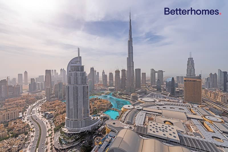11 Burj Khalifa View| Ready now| High Floor|