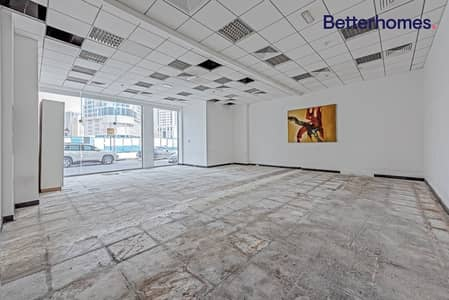 Shop for Rent in Al Khan, Sharjah - Spacious Shop | Great Visibility | Al Ghazal Tower