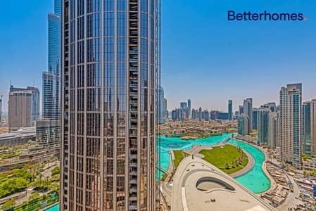 3 Bedroom Apartment for Sale in Downtown Dubai, Dubai - 3 BR + Huge Terrage | Burj Khalifa View
