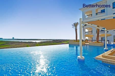 2 Bedroom Apartment for Sale in Yas Island, Abu Dhabi - Vacant - Golf course with Balcony in  Ansam 2