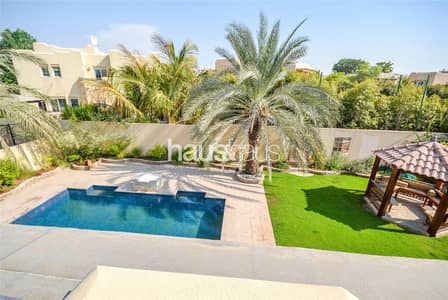 5 Bedroom Villa for Sale in Arabian Ranches, Dubai - Large Plot | Private Pool | Partial Upgrades