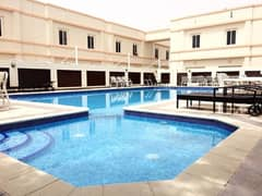 Well maintained 3BHK +Maids room for rent in HorAl Anz near Metro Stn.